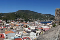 A view of Lipari Stock Photos