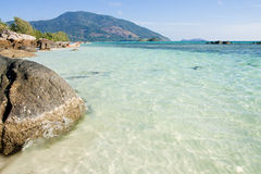 View of Lipe island, south of Thailand Stock Photography