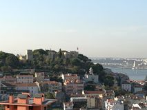 View of lisbon stock photos