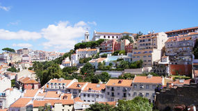 View of Lisbon Royalty Free Stock Photo