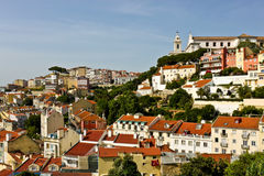 View of Lisbon Royalty Free Stock Photos