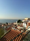 View of lisbon city royalty free stock image