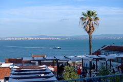 View on lisbon houses Stock Image