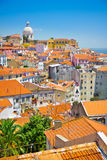 View of Lisbon old city, Portugal Stock Image