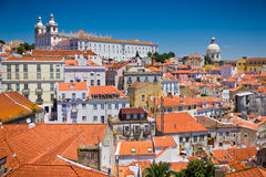 View of Lisbon old city, Portugal Stock Photo