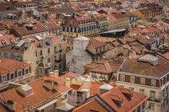 View of Lisbon old city, Portugal Stock Photos