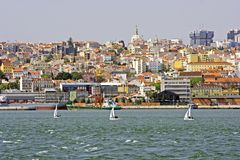 View at Lisbon Portugal Stock Photo