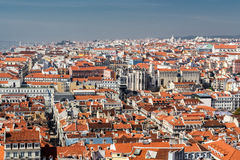 View of Lisbon. Royalty Free Stock Images