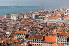 View of Lisbon. Royalty Free Stock Image