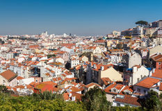 View of Lisbon. Royalty Free Stock Photography