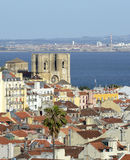 View of Lisbon in Portugal Royalty Free Stock Photo