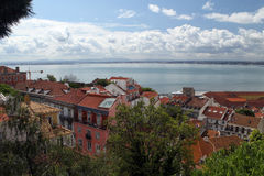The the Tejo river Stock Image