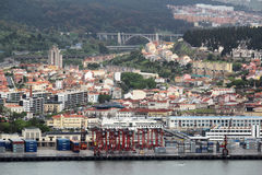 View of Lisbon seaside, Portugal Royalty Free Stock Images
