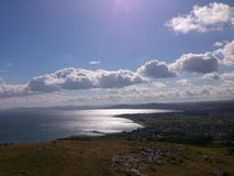 view from the little orme Royalty Free Stock Photo