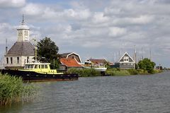 View at a little village in The Netherlands Royalty Free Stock Photography