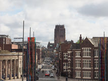 View of Liverpool Royalty Free Stock Photography