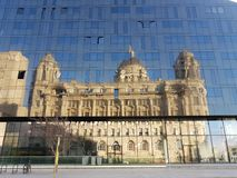 View of Liverpool royalty free stock photo