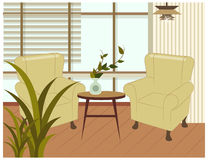 The view of Living room Royalty Free Stock Images