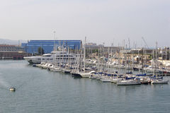 View of Livorno Marina Royalty Free Stock Image