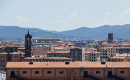 View on Livorno from the Port Royalty Free Stock Image