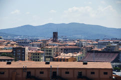 View on Livorno from the Port Stock Photography