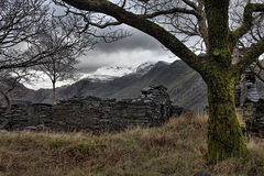 View from Llanberis Royalty Free Stock Image