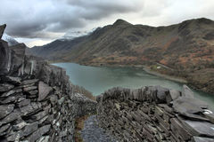 View from Llanberis Stock Photography