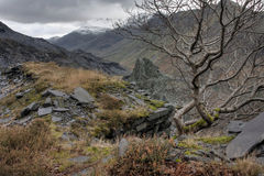 View from Llanberis Stock Image