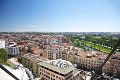View of Lleida city Stock Photo