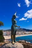 View of lloret de Mar,Costa Brava,Spain. View of lloret de Mar. Costa Brava. Spain stock photo