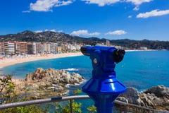 View of lloret de Mar,Costa Brava,Spain. View of lloret de Mar. Costa Brava. Spain Royalty Free Stock Photo