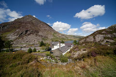 View from llyn Idwal Royalty Free Stock Images