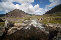 View from llyn Idwal Stock Photography