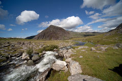 View from llyn Idwal Royalty Free Stock Photography