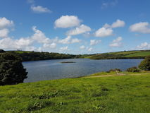 Llys y fran reservoir Stock Images