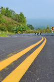 View of the local road in Thailand Stock Image