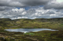 View on Loch Boltachan in scottish highlands Royalty Free Stock Photos