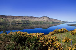 Loch Broom in spring, Scotland, UK Stock Images