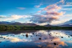 View of Loch Morlich Stock Photo