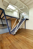 View of the loft, staircase Stock Photos