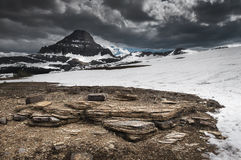 View of Logan Pass Stock Images