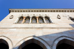 View of Loggia del Lionello in Udine Royalty Free Stock Photo