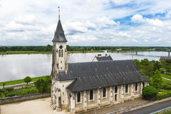 View on Loire valley Stock Images