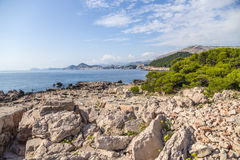 View from Lokrum island Stock Photo