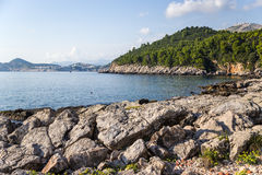 View from Lokrum island Stock Photography