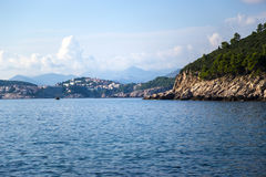 View from Lokrum island Royalty Free Stock Image