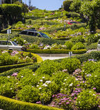 View of Lombard Street Royalty Free Stock Image