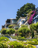 View of Lombard Street, Stock Images