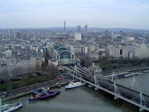 View of London. City of London Royalty Free Stock Photography