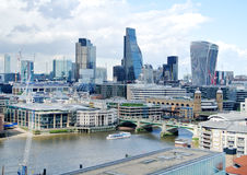 View of London. The beautiful view of London Stock Photography